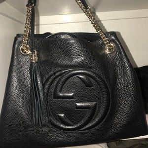 Gucci Soho Black Bag